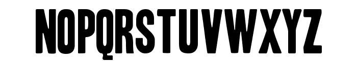 Headline One HPLHS Font LOWERCASE