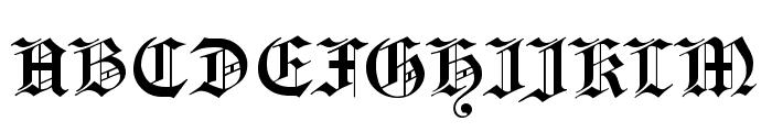 Headline Text Font UPPERCASE