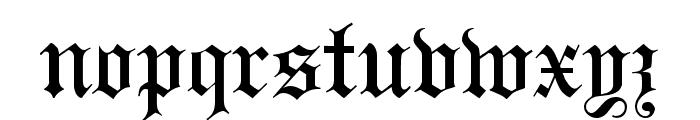 Headline Text Font LOWERCASE