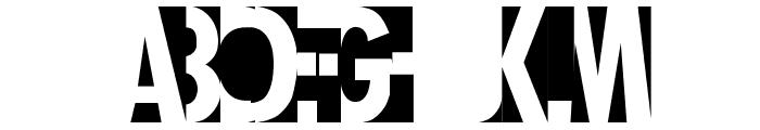Healthy Alternative Font UPPERCASE
