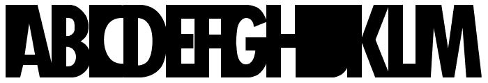 Healthy Alternative Font LOWERCASE