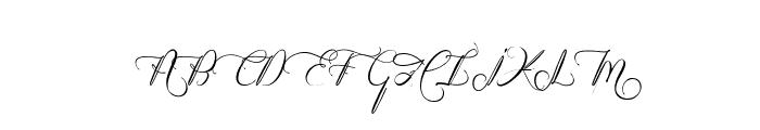 Heart Romance Font UPPERCASE