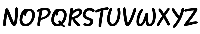 Heart Warming Font UPPERCASE