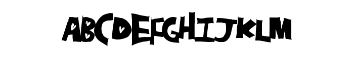 HeartHole Font UPPERCASE