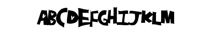 HeartHole Font LOWERCASE