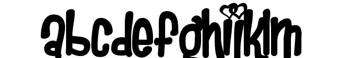 Heartbreaker Font LOWERCASE