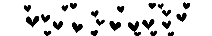 Heartland Hearts Font OTHER CHARS