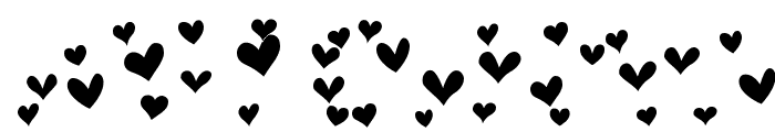 Heartland Hearts Font UPPERCASE