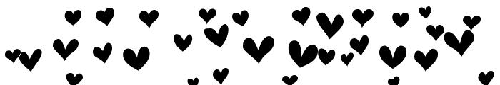 Heartland Hearts Font LOWERCASE
