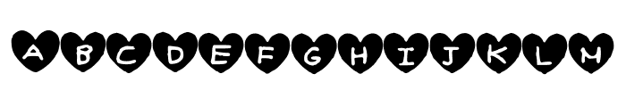 Hearty_Geelyn_Edits_Airbrush Font UPPERCASE