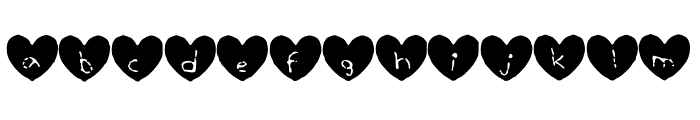 Hearty_Geelyn_Edits_Crayon Font LOWERCASE