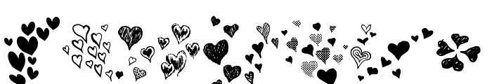 Heartz Font OTHER CHARS