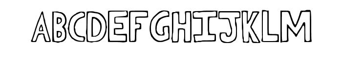 Heasafel Font UPPERCASE
