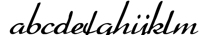 Heather Font LOWERCASE