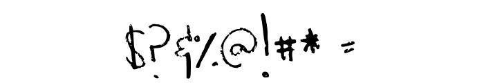 Heathkeit Font OTHER CHARS