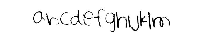 Heathkeit Font LOWERCASE