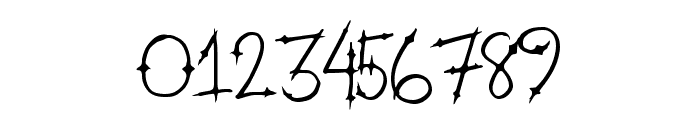 HeavenGate Font OTHER CHARS
