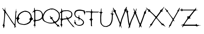 HeavenGate Font UPPERCASE