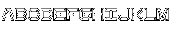 Heavy Bevel [BRK] Font UPPERCASE
