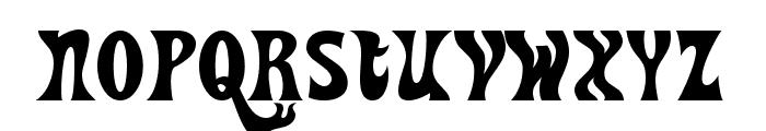 Heavy Heap Font LOWERCASE