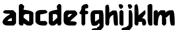 Heavy Weight Gamer Font LOWERCASE