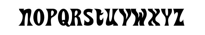 HeavyHeap-Regular Font LOWERCASE