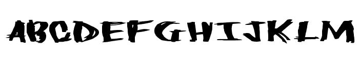 HeavyLoad Font UPPERCASE