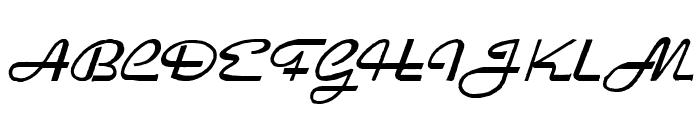HeavyRock Font UPPERCASE