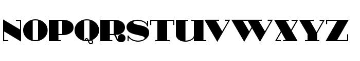 HeavyTripp UltraBold Font UPPERCASE