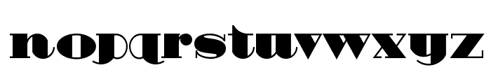 HeavyTripp UltraBold Font LOWERCASE