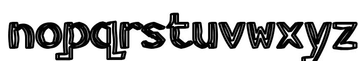 HeavyWood Font LOWERCASE