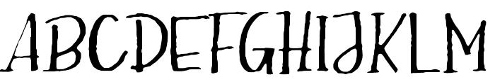 Hector-Regular Font UPPERCASE