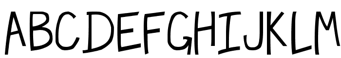 Hecubus Font UPPERCASE