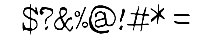 Hehku Font OTHER CHARS