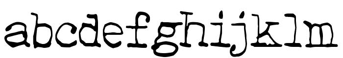 Hehku Font LOWERCASE