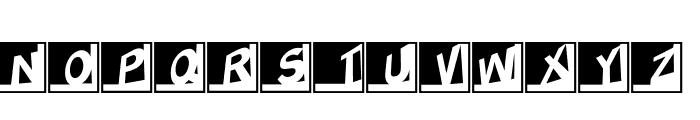 HeidEcker Font LOWERCASE
