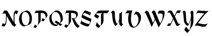 Heidelbe-Light Font UPPERCASE