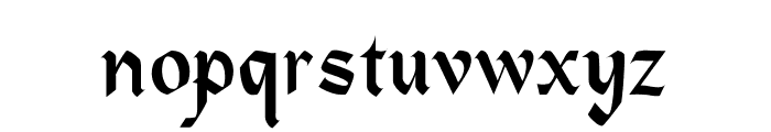 Heidelbe-Light Font LOWERCASE