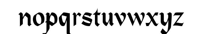 Heidelberg Regular Font LOWERCASE