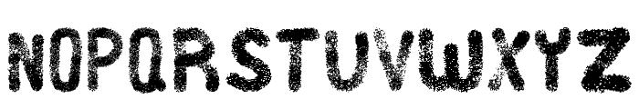 Heidig Brush Font LOWERCASE