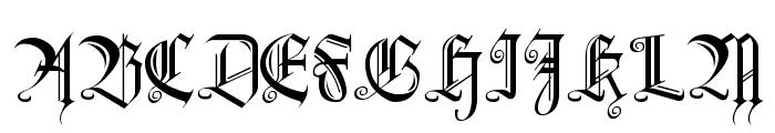 Heidorn Hill Font UPPERCASE