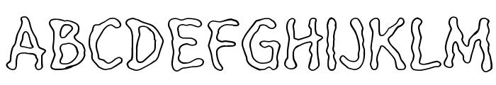 HeilVertica Font UPPERCASE