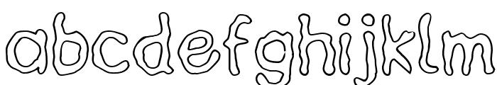 HeilVertica Font LOWERCASE