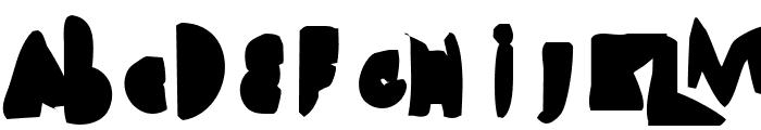 Heimchen Black Font UPPERCASE
