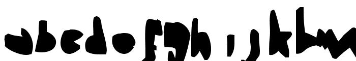 Heimchen Black Font LOWERCASE