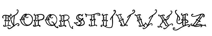 Held x Fast Regular Font UPPERCASE