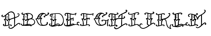 Held x Fast Regular Font LOWERCASE