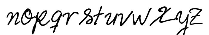 Helena Script Font LOWERCASE