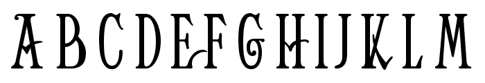 Helena-Wide Font LOWERCASE