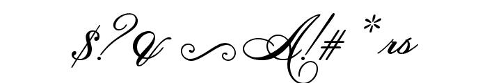 HelenaScript ES Font OTHER CHARS